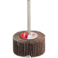 """Круг шлифовальный ЗУБР """"МАСТЕР"""" веерный лепестковый, на шпильке, тип КЛО, зерно-электрокорунд нормальный, P320, 15х30мм 36600-320"""