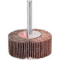 """Круг шлифовальный ЗУБР """"МАСТЕР"""" веерный лепестковый, на шпильке, тип КЛО, зерно-электрокорунд нормальный, P60, 20х50мм 36601-060"""