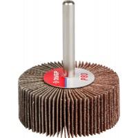 """Круг шлифовальный ЗУБР """"МАСТЕР"""" веерный лепестковый, на шпильке, тип КЛО, зерно-электрокорунд нормальный, P80, 20х50мм 36601-080"""