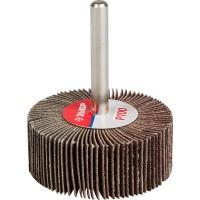 """Круг шлифовальный ЗУБР """"МАСТЕР"""" веерный лепестковый, на шпильке, тип КЛО, зерно-электрокорунд нормальный, P100, 20х50мм 36601-100"""