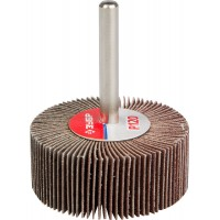 """Круг шлифовальный ЗУБР """"МАСТЕР"""" веерный лепестковый, на шпильке, тип КЛО, зерно-электрокорунд нормальный, P120, 20х50мм 36601-120"""