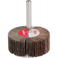 """Круг шлифовальный ЗУБР """"МАСТЕР"""" веерный лепестковый, на шпильке, тип КЛО, зерно-электрокорунд нормальный, P180, 20х50мм 36601-180"""
