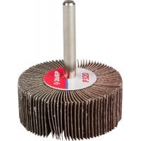 """Круг шлифовальный ЗУБР """"МАСТЕР"""" веерный лепестковый, на шпильке, тип КЛО, зерно-электрокорунд нормальный, P320, 20х50мм 36601-320"""
