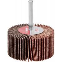 """Круг шлифовальный ЗУБР """"МАСТЕР"""" веерный лепестковый, на шпильке, тип КЛО, зерно-электрокорунд нормальный, P60, 30х60мм 36602-060"""
