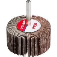 """Круг шлифовальный ЗУБР """"МАСТЕР"""" веерный лепестковый, на шпильке, тип КЛО, зерно-электрокорунд нормальный, P100, 30х60мм 36602-100"""