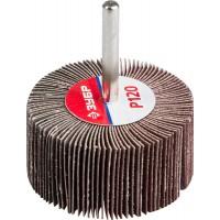 """Круг шлифовальный ЗУБР """"МАСТЕР"""" веерный лепестковый, на шпильке, тип КЛО, зерно-электрокорунд нормальный, P120, 30х60мм 36602-120"""
