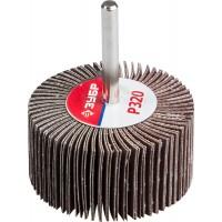 """Круг шлифовальный ЗУБР """"МАСТЕР"""" веерный лепестковый, на шпильке, тип КЛО, зерно-электрокорунд нормальный, P320, 30х60мм 36602-320"""