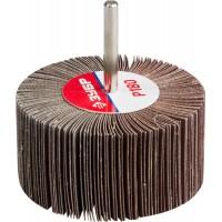 """Круг шлифовальный ЗУБР """"МАСТЕР"""" веерный лепестковый, на шпильке, тип КЛО, зерно-электрокорунд нормальный, P180, 40х80мм 36604-180"""