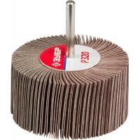 """Круг шлифовальный ЗУБР """"МАСТЕР"""" веерный лепестковый, на шпильке, тип КЛО, зерно-электрокорунд нормальный, P320, 40х80мм 36604-320"""