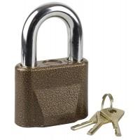 """Замок ЗУБР """"МАСТЕР"""" навесной, общего применения, дисковый механизм секрета, ключ 7 """"пинов"""", дужка d-14мм, 70мм 3720-1"""