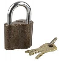 """Замок ЗУБР """"МАСТЕР"""" навесной, компактный корпус, дисковый механизм секрета, ключ 7 """"пинов, 48х41мм 3720-26_z01"""