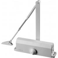 Доводчик дверной STAYER, для дверей массой до 100 кг, цвет белый 37916-100