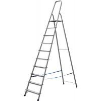 Лестница-стремянка СИБИН алюминиевая, 10 ступеней, 208 см 38801-10