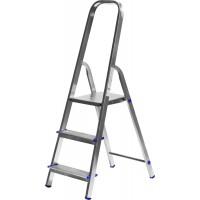Лестница-стремянка ЗУБР алюминиевая, усиленный профиль, 3 ступени 38805-03