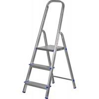 Лестница-стремянка ЗУБР алюминиевая, усиленный профиль, 4 ступени 38805-04