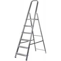 Лестница-стремянка ЗУБР алюминиевая, усиленный профиль, 6 ступеней 38805-06
