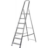Лестница-стремянка ЗУБР алюминиевая, усиленный профиль, 7 ступеней 38805-07