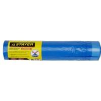 """Мешки для мусора STAYER """"Comfort"""" с завязками, особопрочные, голубые, 60л, 20шт 39155-60"""