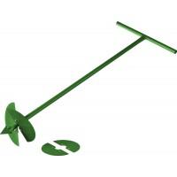 Бур садовый РОСТОК, со сменными ножами, 150 мм, 200мм, длина 1000мм 39492