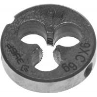 """Плашка ЗУБР """"МАСТЕР"""" круглая ручная для нарезания метрической резьбы, М4 x 0,7 4-28022-04-0.7"""