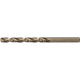 """Сверло ЗУБР """"КОБАЛЬТ"""" по металлу, цилиндрический хвостовик, быстрорежущая сталь Р6М5К5, класс точности А1, 7х109мм, 1шт 4-29626-109-7"""
