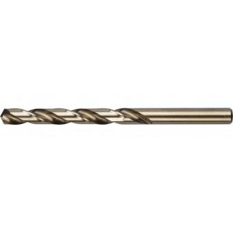 """Сверло ЗУБР """"КОБАЛЬТ"""" по металлу, цилиндрический хвостовик, быстрорежущая сталь Р6М5К5, класс точности А1, 9х125мм, 1шт 4-29626-125-9"""