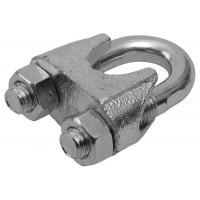Зажим троса ЗУБР DIN 741, оцинкованный, 10мм, 2 шт 4-304416-10