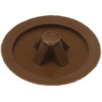 Заглушка декоративная ЗУБР под шуруп, цвет дуб, шлиц №2, ТФ6, 40шт 4-308156-1