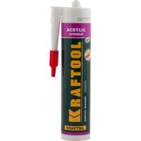 Герметик акриловый KRAFTOOL белый, 300мл 41251-0