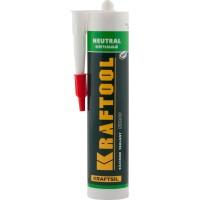 Герметик силиконовый KRAFTOOL белый, нейтральный, 300мл 41257-0