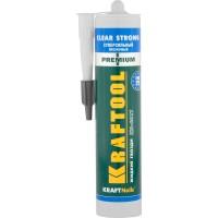 Клей монтажный KRAFTOOL KraftNails Premium KN-601T, суперсильный, прозрачный, 310мл 41342