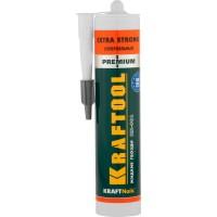 Клей монтажный KRAFTOOL KraftNails Premium KN-901, сверхсильный универсальный, для наружных и внутренних работ, 310мл 41343_z01