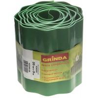 Лента бордюрная Grinda, цвет зеленый, 20см х 9 м 422245-20