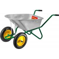 Тачка GRINDA садово-строительная двухколесная, 90 л, грузоподъемность 180 кг 422397_z01
