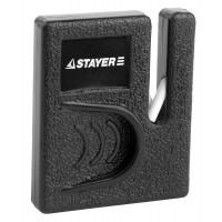 """Точилка STAYER """"MASTER"""", для ножей, компактная, керамическая рабочая часть 47511"""