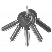 """Заготовка ключа ЗУБР """"МАСТЕР"""" для цилиндровых механизмов, английский тип, 5 шт. 52195_z01"""