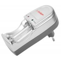 Зарядное устройство ЗУБР для никель-металлгидридных аккумуляторов, в блистере, время зарядки 6 часов, 2хААА/АА 59231-2