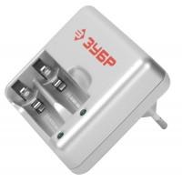 Зарядное устройство ЗУБР для никель-металлгидридных аккумуляторов, в блистере, время зарядки 1 час, 2хААА/АА 59251-2