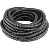 Металлорукав СВЕТОЗАР в ПВХ оболочке, степень защиты-IP65, диаметр 15мм, черный, 50м 60150-15-50