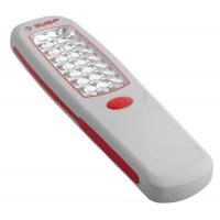 Фонарь светодиодный ЗУБР, 24 LED с линзами, магнит, крючок для подвеса, 3АА 61814