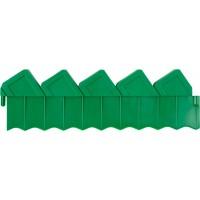 Ограждение GRINDA для клумб, цвет зеленый, 2 секции 8-422304