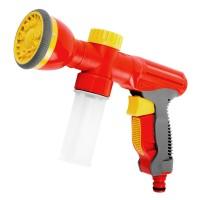 """Пистолет-распылитель GRINDA универсальный """"3 в 1"""": полив, удобрение,мойка, пластмассовый, 9-позиционный 8-427378"""